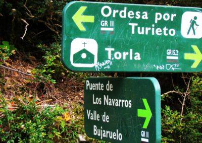 Valle de Bujaruelo: Garganta de los Navarros