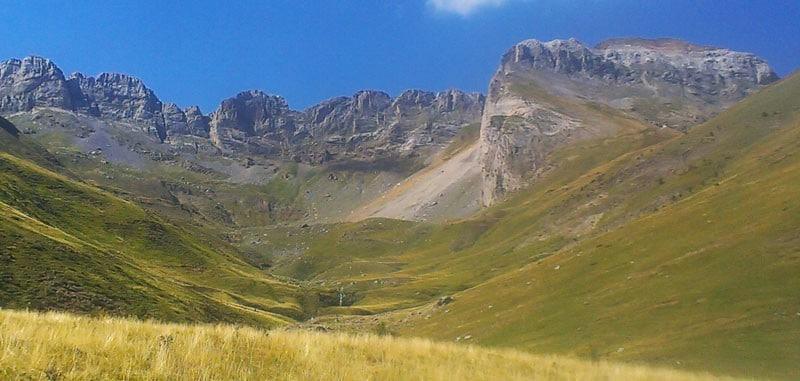 Valle del Ara: Valle del Sorrosal